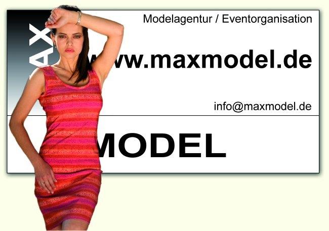 Banner Maxmodel Agentur
